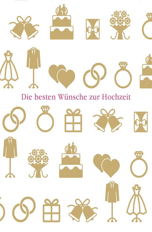 Geschenkkörbe & Präsentkörbe im Online-Shop kaufen - Grusskarte Hochzeit